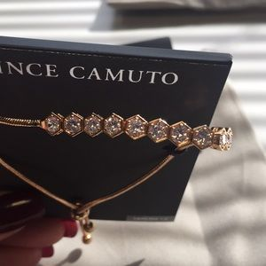 New Vince Camuto Adjustable Genuine CZ bracelet